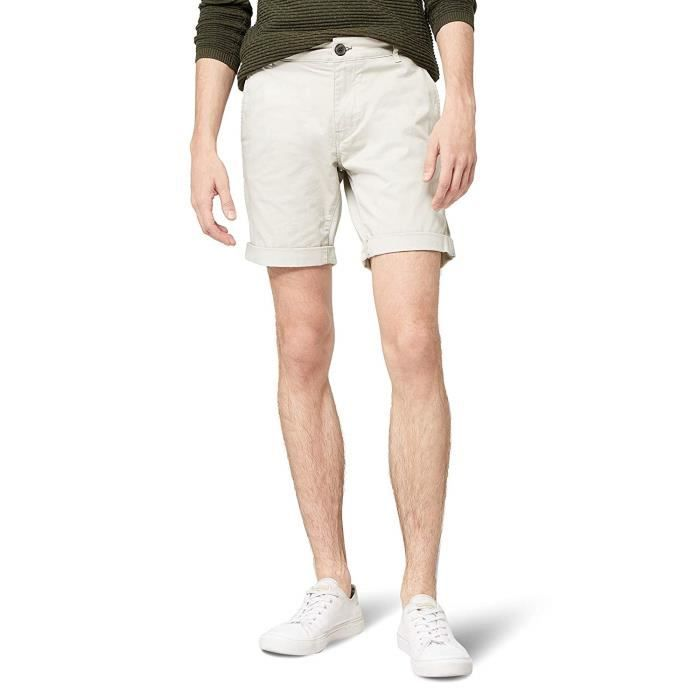 SELECTED FEMME Selected Homme Shhparis Moonstruck St Shorts, Beige, 52 (Taille Fabricant: Large) Homme - 16048225-Moonstruck