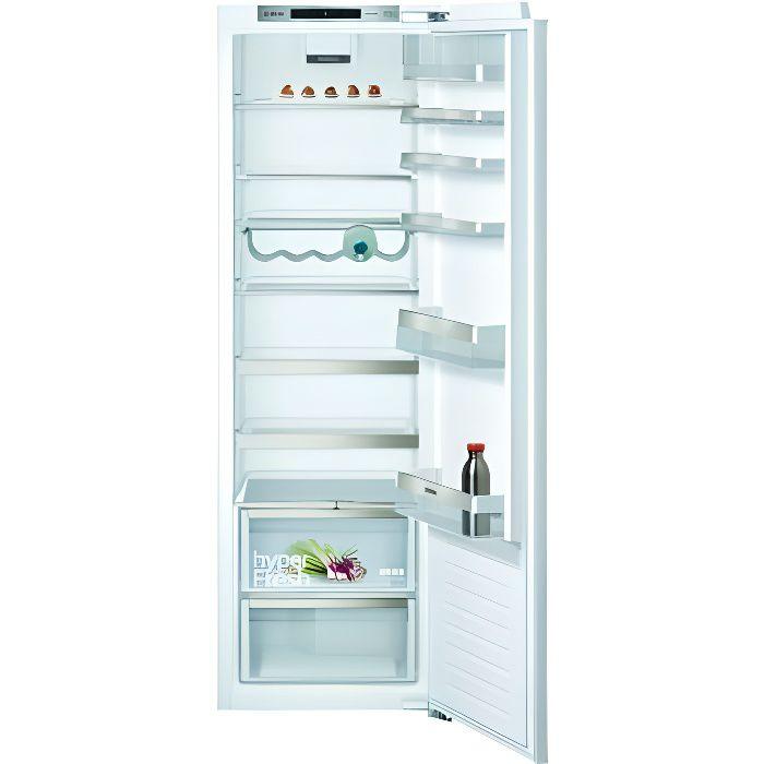 Réfrigérateur encastrable 1 porte KI81RADE0 iQ500 319 L Super-Réfrigération