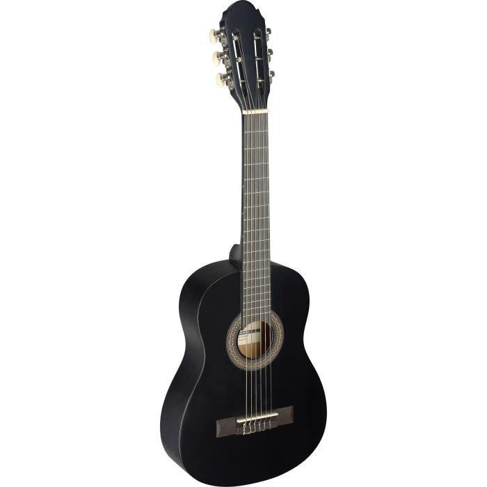 STAGG C405 M BLK Guitare Classique Enfant 1/4 - Noir