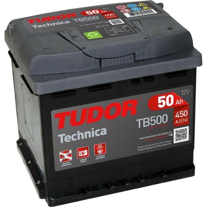 Batterie Tudor Technica 50Ah/450A (TB500)