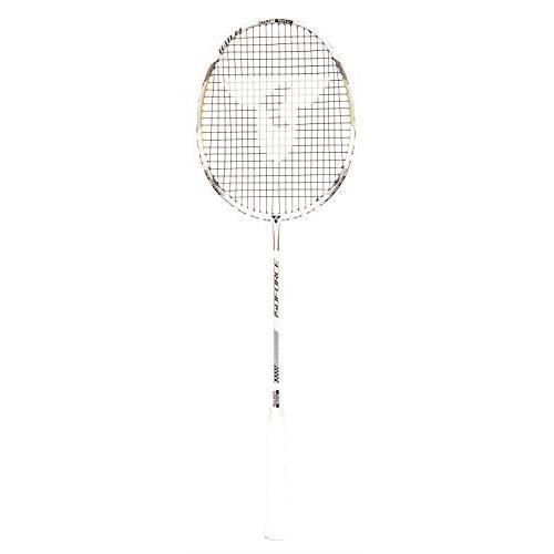 Talbot-Torro Raquette de badminton Isoforce 1011.8, 100% en fibres de carbone 4, ultra légère, poids total 80g, manche en graphite