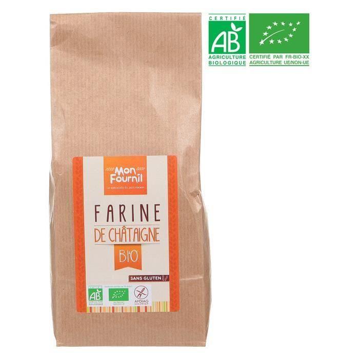 MON FOURNIL Farine de châtaigne bio - 350 g