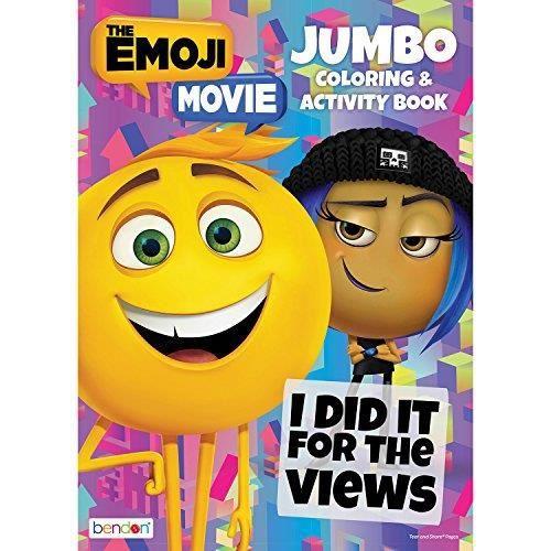 Le Coloriage Jumbo Emoji Film Et Livre Activite X03k5