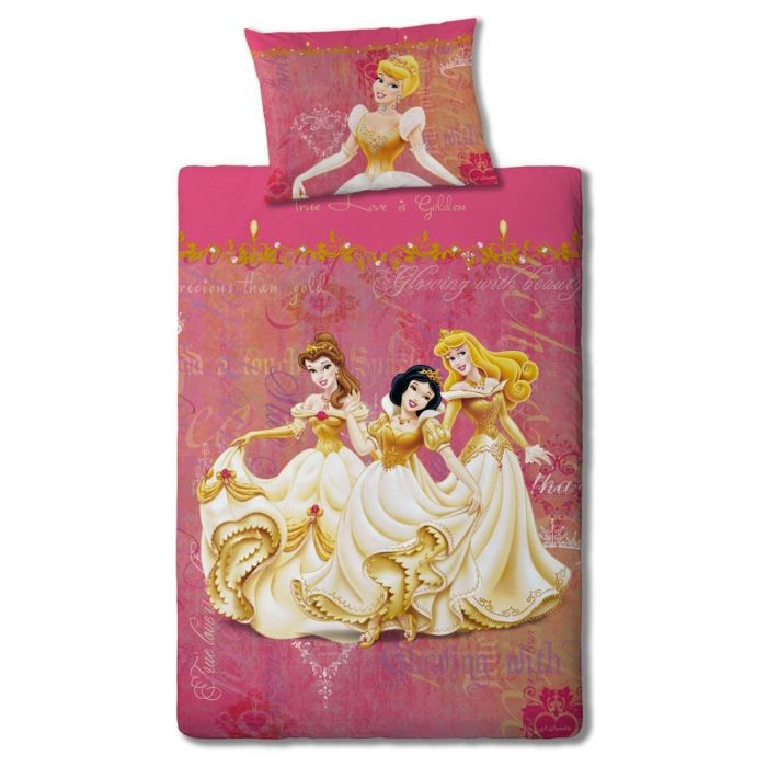 couette princesse disney. Black Bedroom Furniture Sets. Home Design Ideas