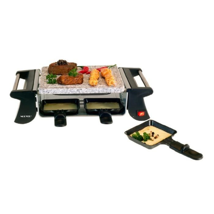 appareil raclette 4 grill 4 personnes noir achat. Black Bedroom Furniture Sets. Home Design Ideas