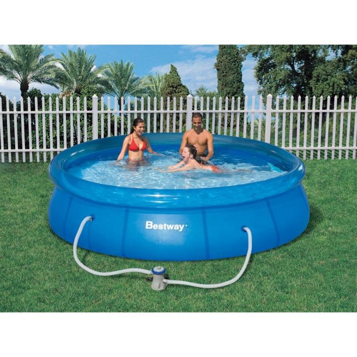 Piscine autoportante en kit ronde x m achat for Piscine autoportante