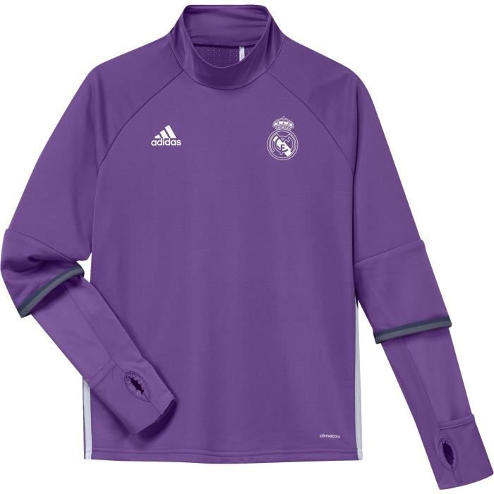 training top junior real madrid 2016 2017 prix pas cher cdiscount. Black Bedroom Furniture Sets. Home Design Ideas