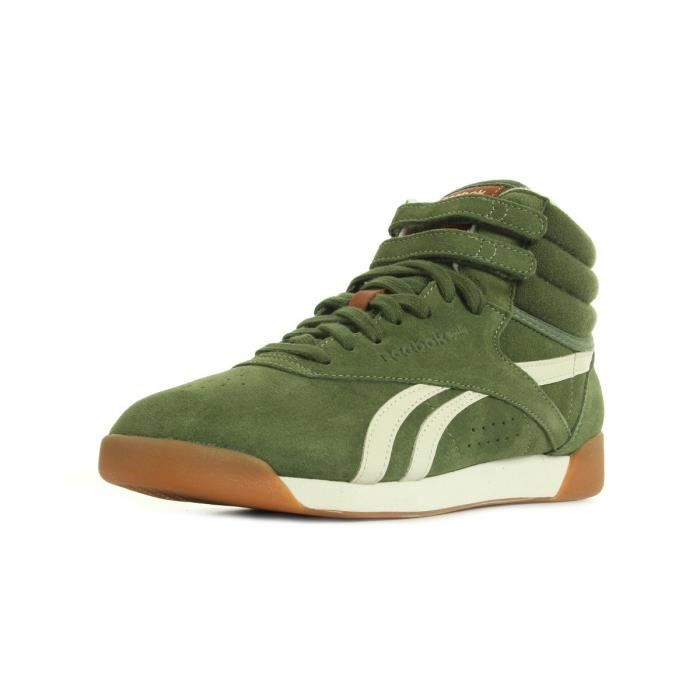 reebok freestyle kaki