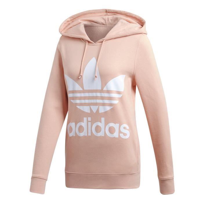 hoodie femme adidas