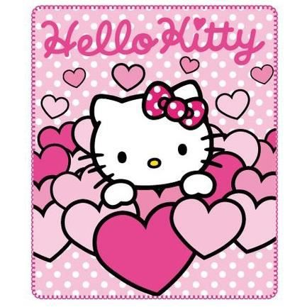 Hello kitty plaid couverture polaire coeur achat vente couverture plaid cdiscount - Hello kitty coeur ...
