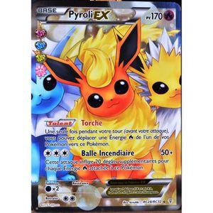 CARTE A COLLECTIONNER carte Pokémon RC28 Pyroli-EX 170 PV - ULTRA RARE -