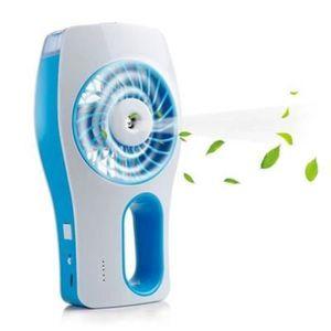 VENTILATEUR  Mini Ventilateur Brumisateur à Main - Rechargeabl