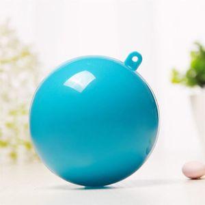 BOULE DE NOËL 5pcs 7.8 cm rond bonbons boîte de Noël boules déco
