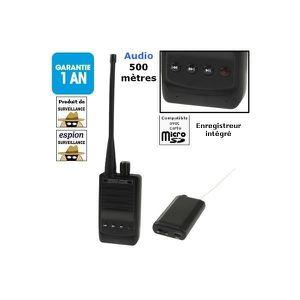 Système d'écoute Systeme D'ecoute - Micro Miniature - Micro Dissimu