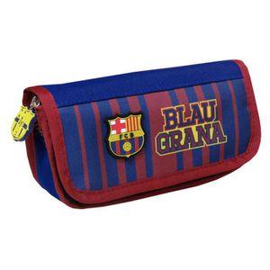 230 x 110 mm 19//20 Officiel Double Fermeture /éclair Scolaire Trousse FC Barcelona 1a Equip