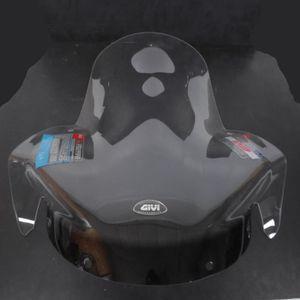 kioski Pare-Brise de Scooter de v/éhicule /électrique Pare-Brise Avant de Moto HD Pare-Brise de Voiture de Batterie Transparente