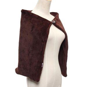Foulard chauffant chauffant USB en fibre de carbone pour châle chaise de voitur
