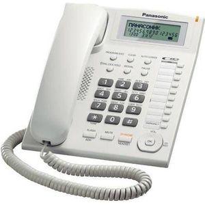 Téléphone fixe Téléphone Panasonic KX-TS880 Blanc