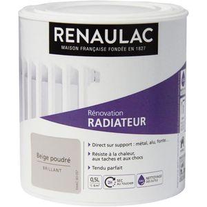 PEINTURE - VERNIS RENAULAC Peinture Rénovation Radiateur Beige Poudr