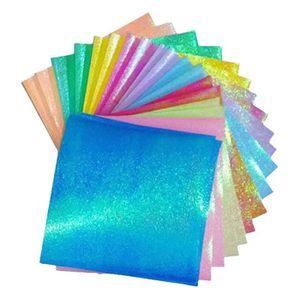 deux côtés feuilles Carrés Origami papier plié Craft Kit SIL NOUVEAU 70 couleur