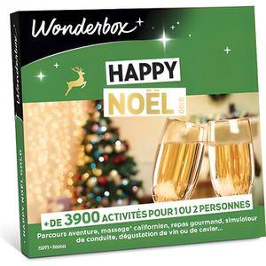 COFFRET THÉMATIQUE Box cadeau de noël - Happy noël gold - Wonderbox -