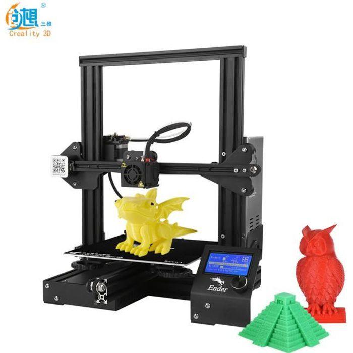 Creality 3D Ender-3 Imprimante 3D DIY haute précision...