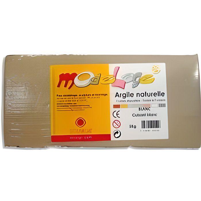 Argile naturelle Modelage 5kg Blanc