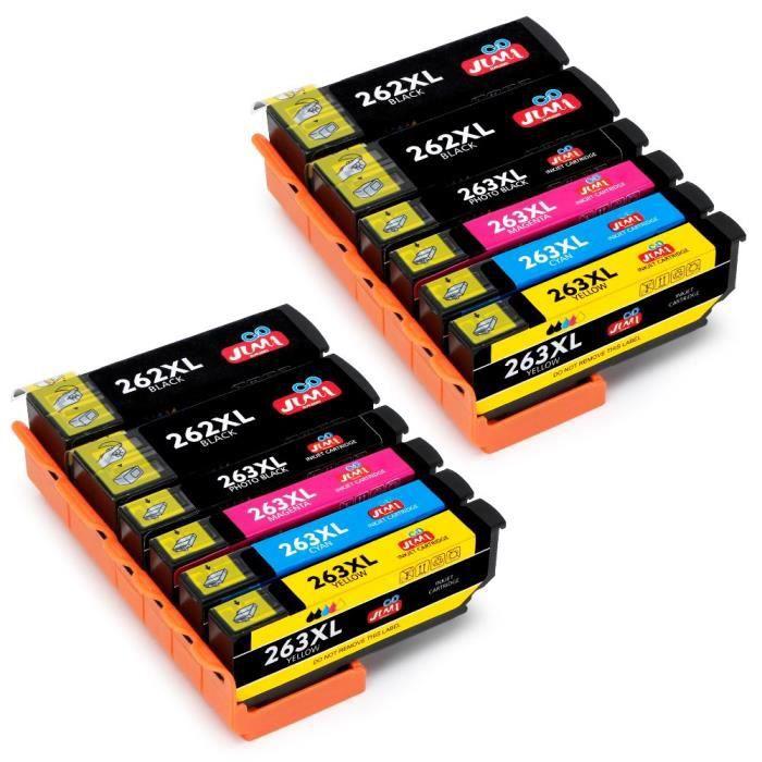 Jimigo 26 Xl 26Xl Cartouches d'encre Remplacement Pour Epson 26 Encre Compatible Avec Epson Expression Premium Xp 520 Xp 605 Xp 6