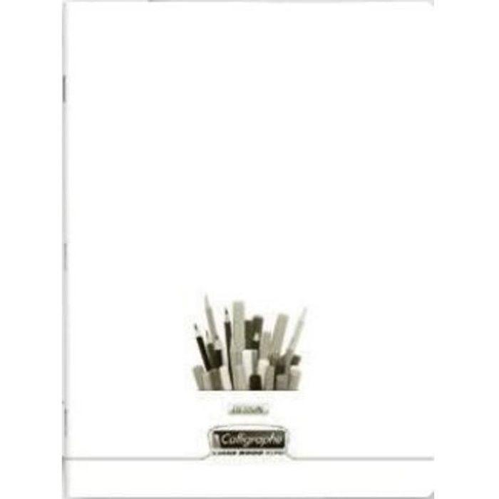 Cahier de dessin 17x22 - 32 pages - Uni