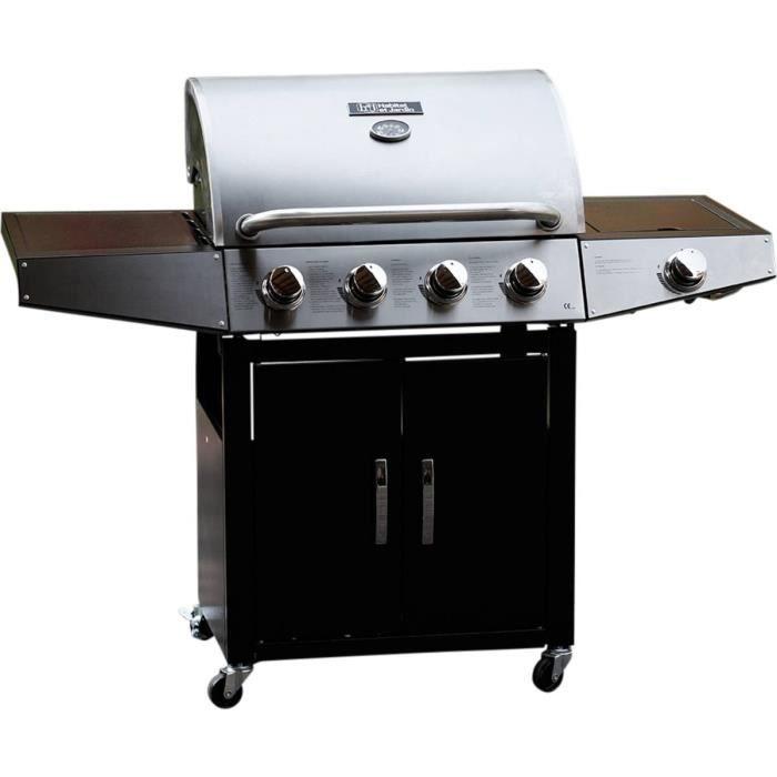 Barbecue gaz -Party 5- - 5 Brûleurs dont 1 latéral - 15.2 kW