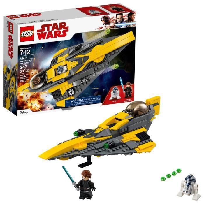 LEGO Star Wars Jedi Starfighter 75214 Anakin NGIY5