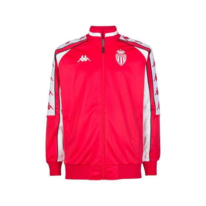Veste Retro Ahran AS Monaco 19-20 Rouge 3XL