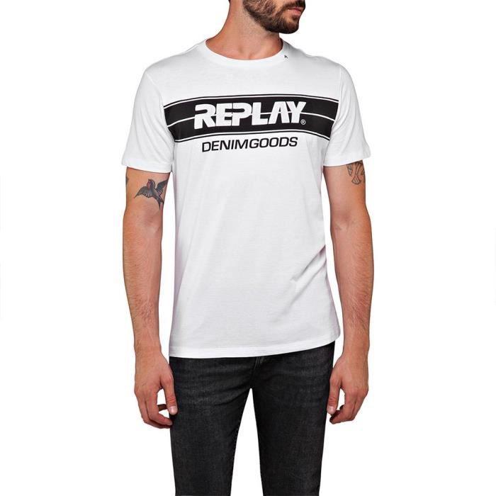 Vêtements Homme T-Shirts Replay M3059 T-shirt