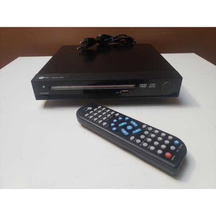 LECTEUR DVD MPMAN XVD320D HDMI HD USB CD RW MP3 VIDEO DOLBY DIGITAL PERITEL