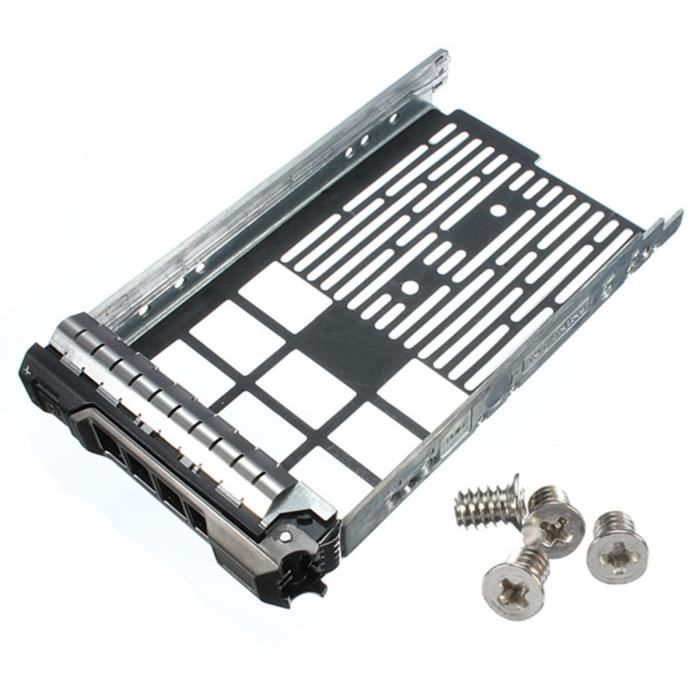 3.5 Pouces Caddie Support Plateau Caddy Rack De Disque Dur Pour Dell Poweredge R710 R510 R410 T610
