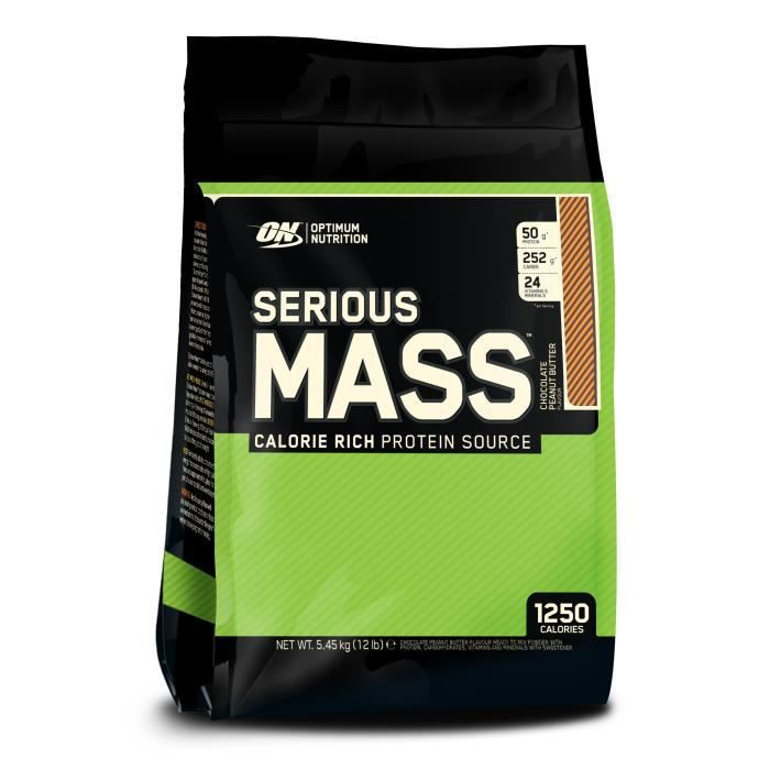 Serious Mass CHOCOLATE PEANUT BUTTER 5455g Optimum Nutrition