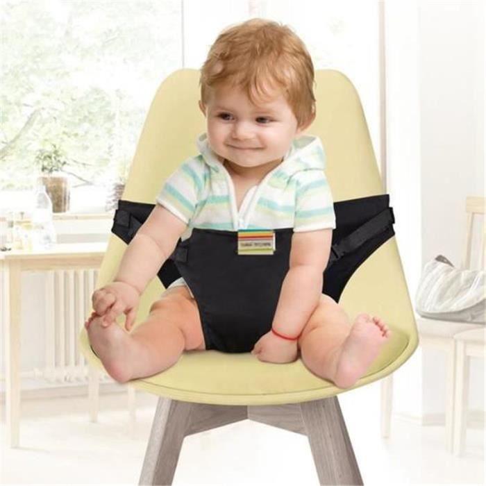 Chaise Haute Portable Bébé Chaise Voyage pour Sécurité Chaise haute sécurité Chaise Harnais