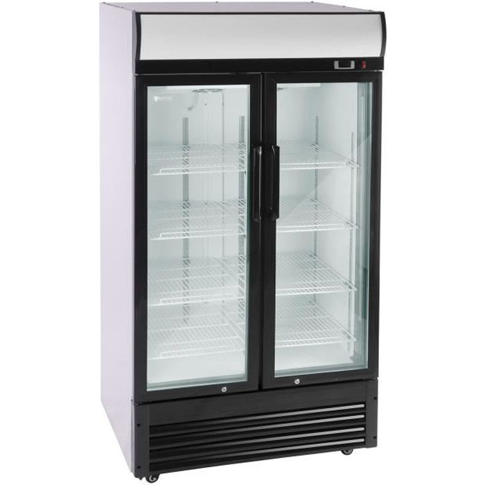 Réfrigérateur Frigo Compact Freezer Frigidaire 630 L Thermostat Numérique