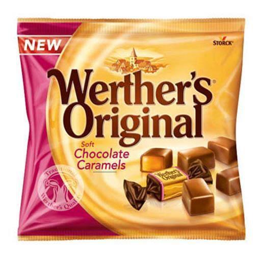 Werther's Original Soft Chocolate Caramels (lot de 2)