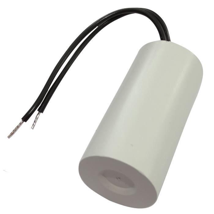 Aerzetix Condensateur permanent de travail pour moteur 14/µF 450V pr/éc/âbl/é