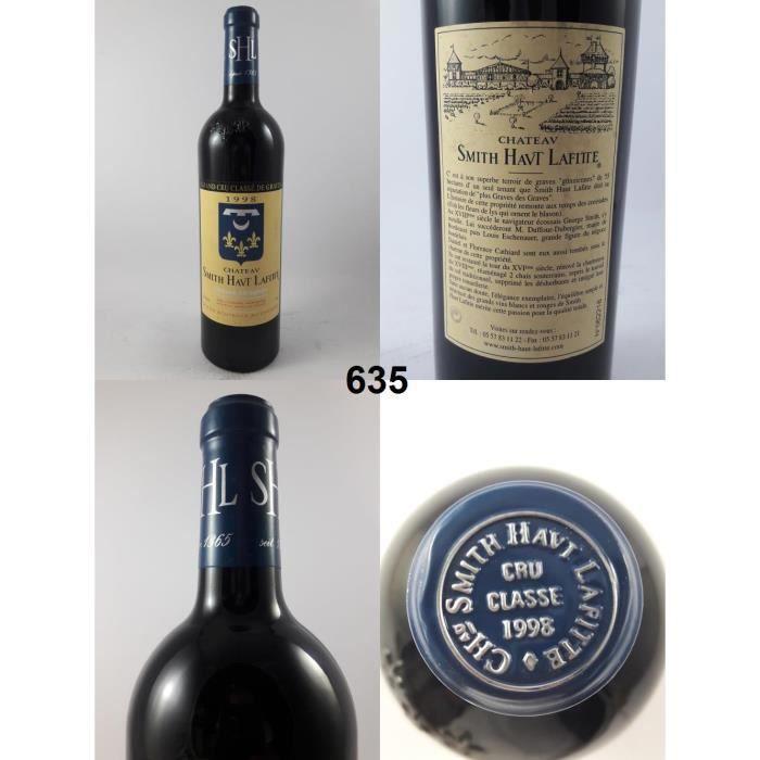 VIN ROUGE Château Smith Haut-Lafite 1998 - N° : 635, Bordeau