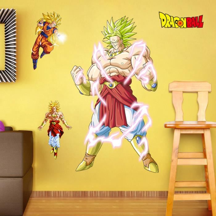 Stickers muraux dragon ball pour enfants chambres murales for Decoration dragon ball