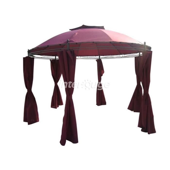 tente de jardin pergola en epoxy dia 3 5m 180g m achat vente tonnelle barnum tente de. Black Bedroom Furniture Sets. Home Design Ideas