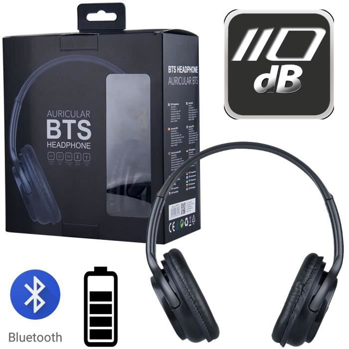 Casque Audio Bluetooth BTS 4.1 Sans Fil -