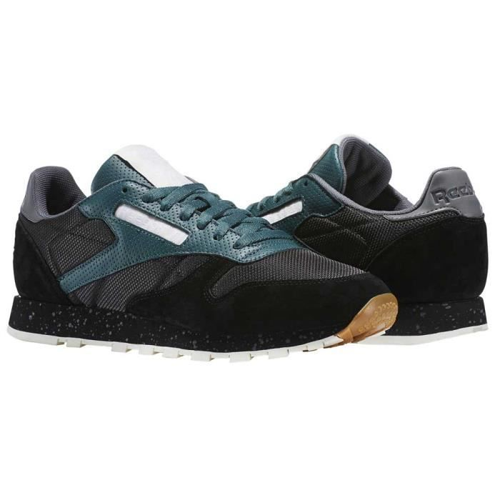 Leather homme Sm Baskets Classic Chaussures Classics Reebok fSqZwU