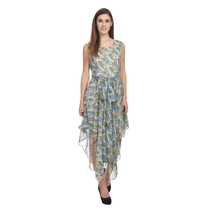 Womens Multi-coloured A Line Dress JSYKM Taille-32