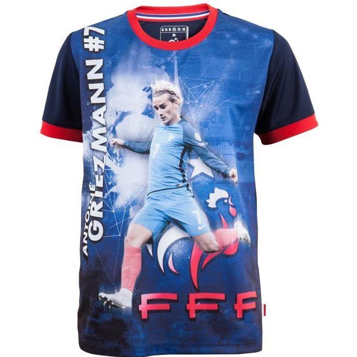 FFF Grand Sac de Sport 2 /étoiles Collection Officielle Equipe de France de Football