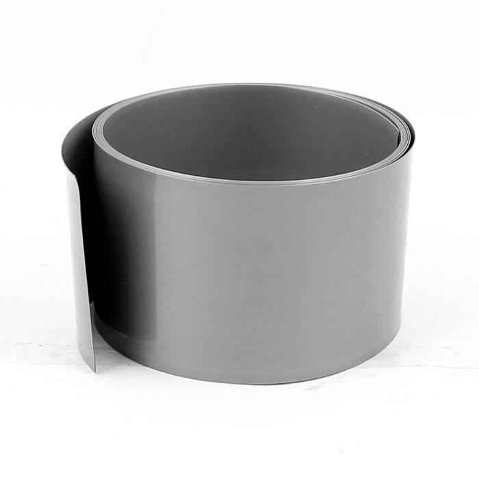 sourcingmap 6.6ft 50mm diam/ètre 32 mm tube thermor/étractable PVC clair pour 2 x Batterie 18650