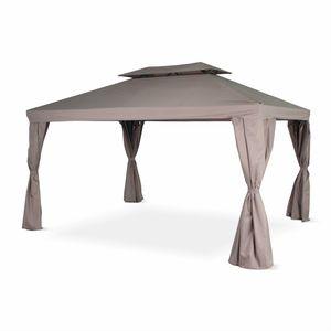TONNELLE - BARNUM Tente de jardin, pergola aluminium 3x4m Divodorum