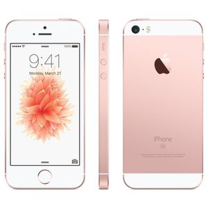SMARTPHONE APPLE iPhone SE Rose Or 16Go